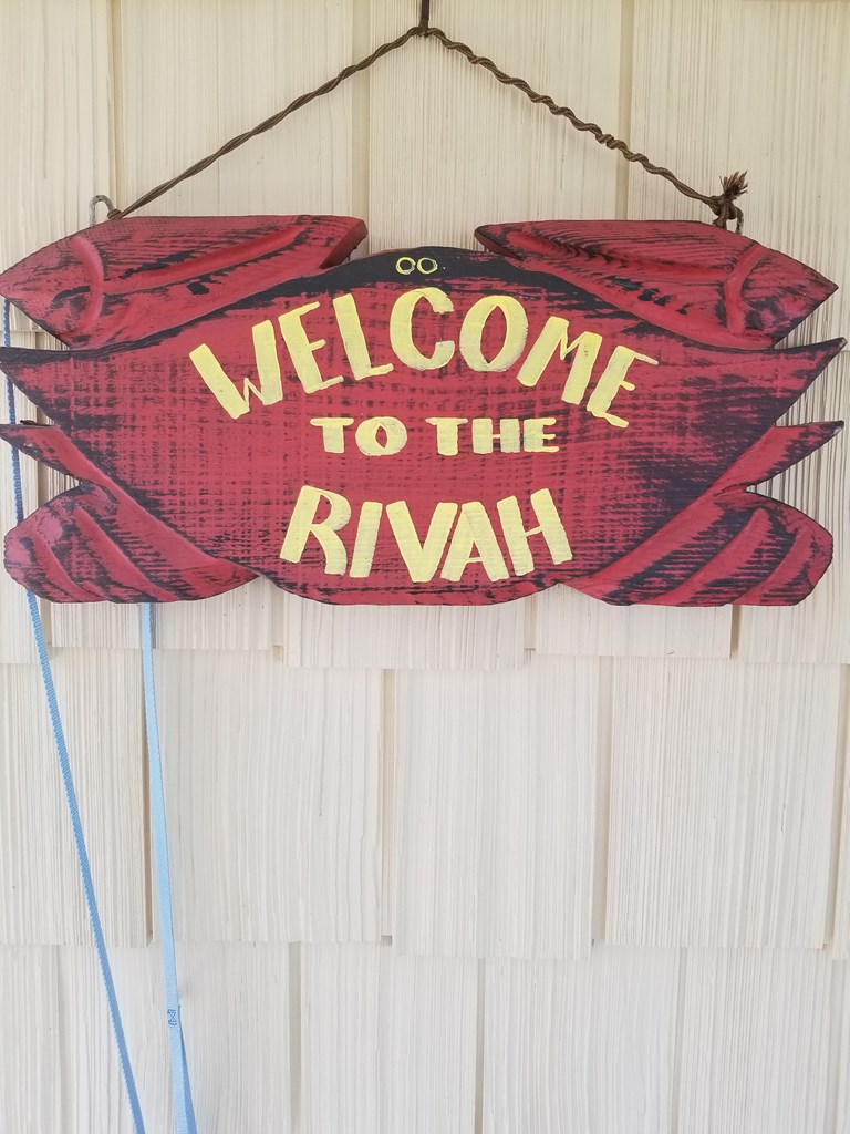 WELCOME TO THE RIVAH....HOPE YOU GET TOO STAY!