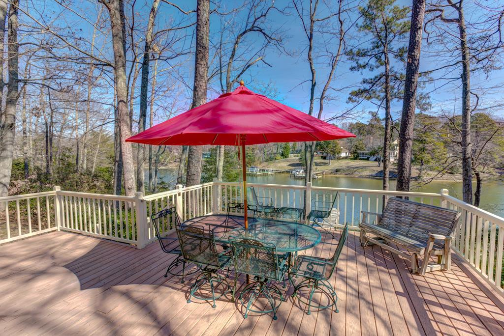 Enjoy the scenic views from your deck!